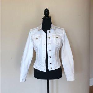 Burberry Brit White Jean Jacket